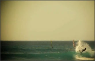 Amazing waveriding with kite by Matchu on Cape Verde (Video)