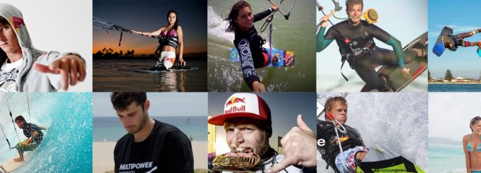 Find your favourite pro kiteboarder on Facebook and Instagram