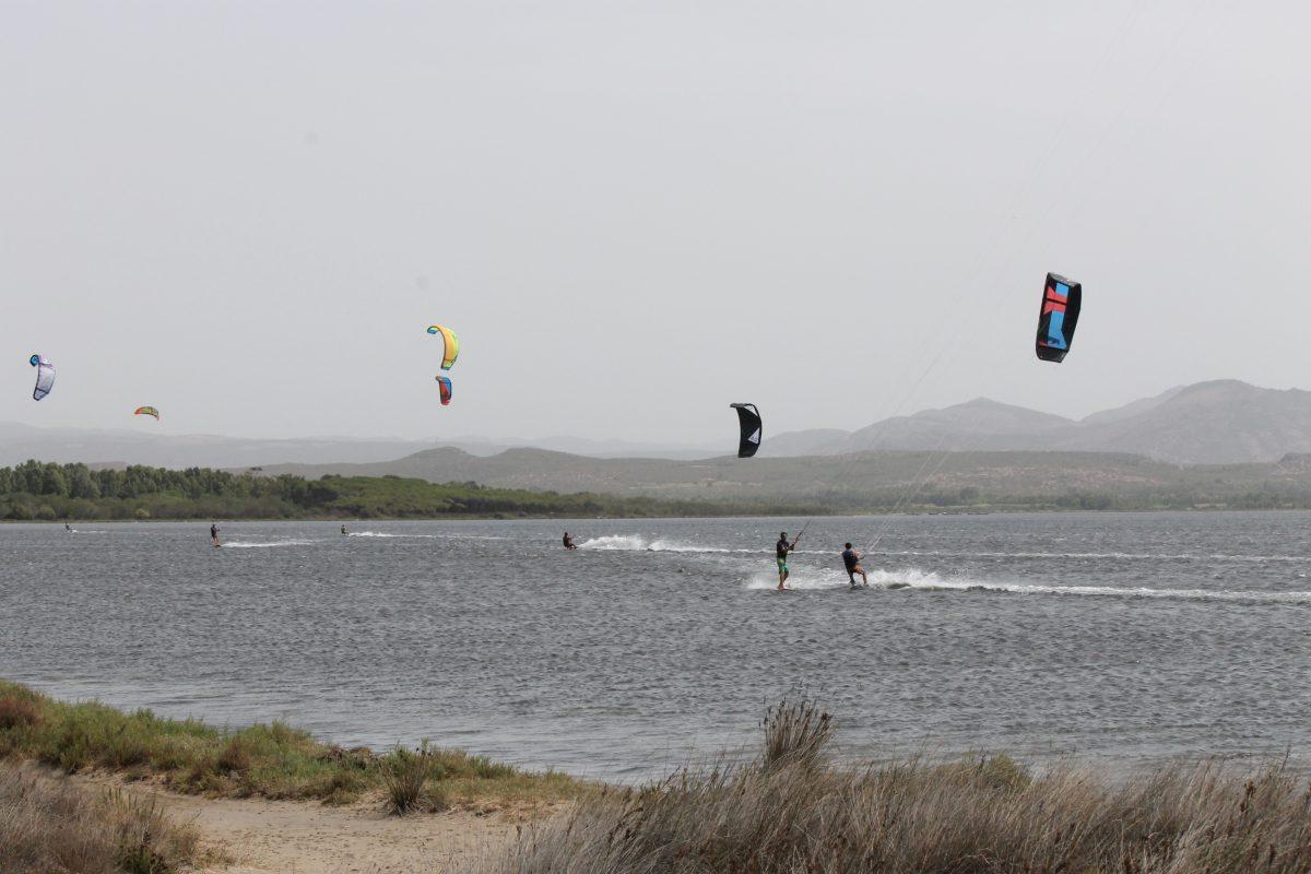 kitesurf in Punta Trettu Sardinia