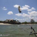 kitesurf in winter in mwazaro kenya