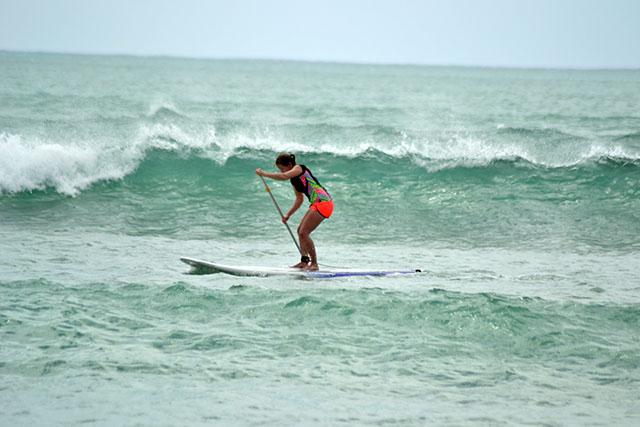 stand up paddleboard at boa vista